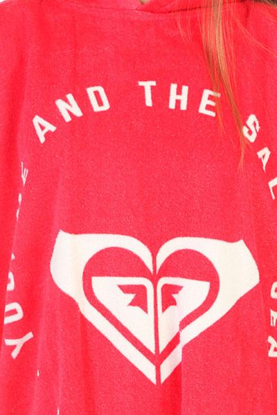 Пончо женский Roxy Rg Pass This On Rouge Red