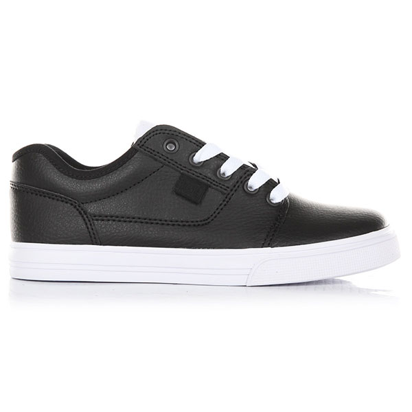 Кеды низкие детские DC Shoes Tonik Se Black/White