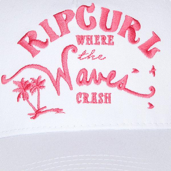Бейсболка классическая женская Rip Curl Waves Snap Tab Cap Egret