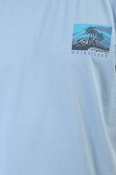 Футболка Quiksilver Larhuness Silver Lake Blue