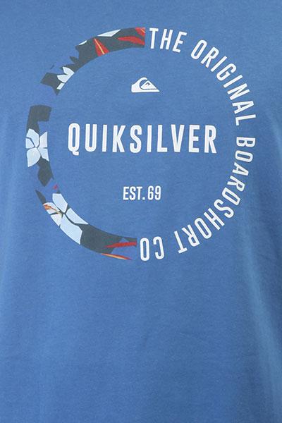 Футболка Quiksilver Ssclassirevenge Bright Cobalt