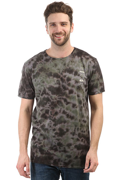 Футболка Quiksilver Gibusmoon Raven Tie And Dye