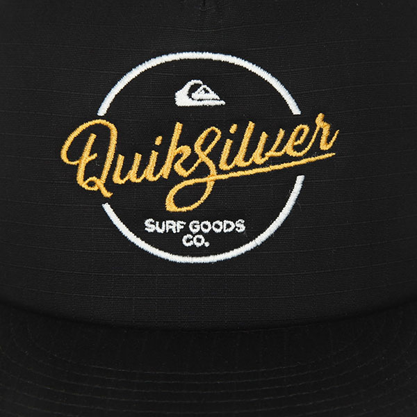 Бейсболка с сеткой Quiksilver Turnstyles Black
