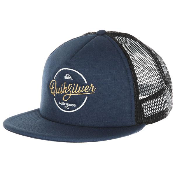 Бейсболка с сеткой Quiksilver Turnstyles Vintage Indigo
