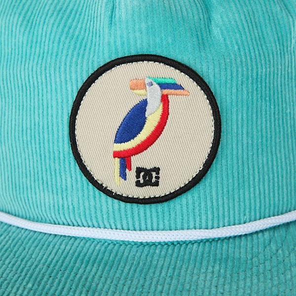 Бейсболка с прямым козырьком DC Birds Of Empire Marine Blue
