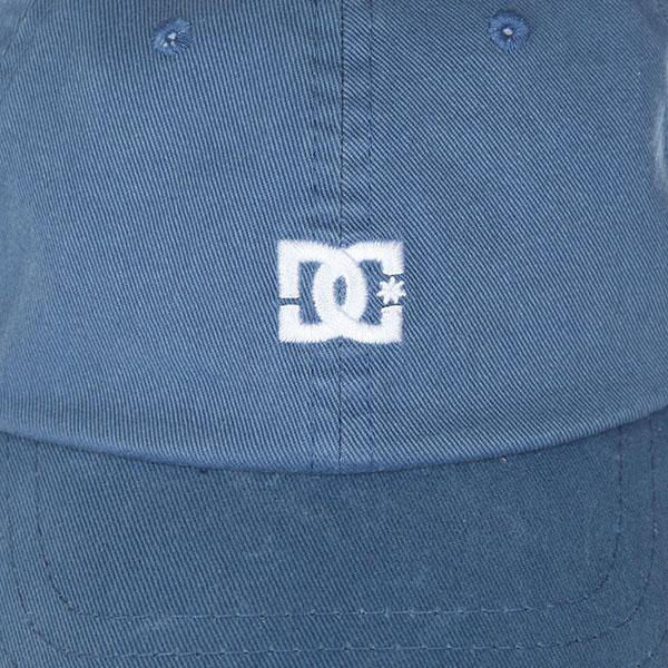 Бейсболка классическая DC Uncle Fred Blue Mirage