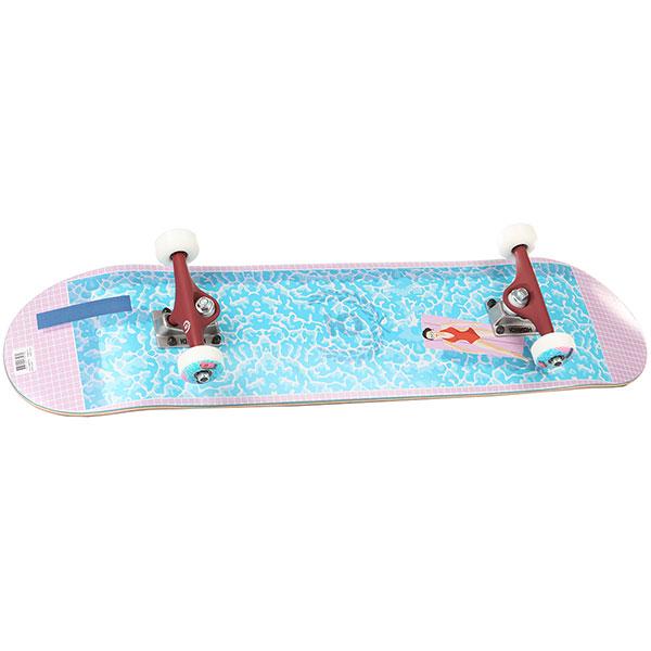Скейтборд в сборе Юнион Pool Multi 32 x 8 (20.3 см)