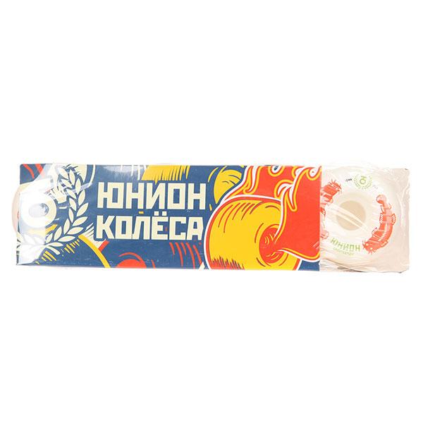 Колеса для скейтборда Юнион Catfish White/Red 101A 49 mm