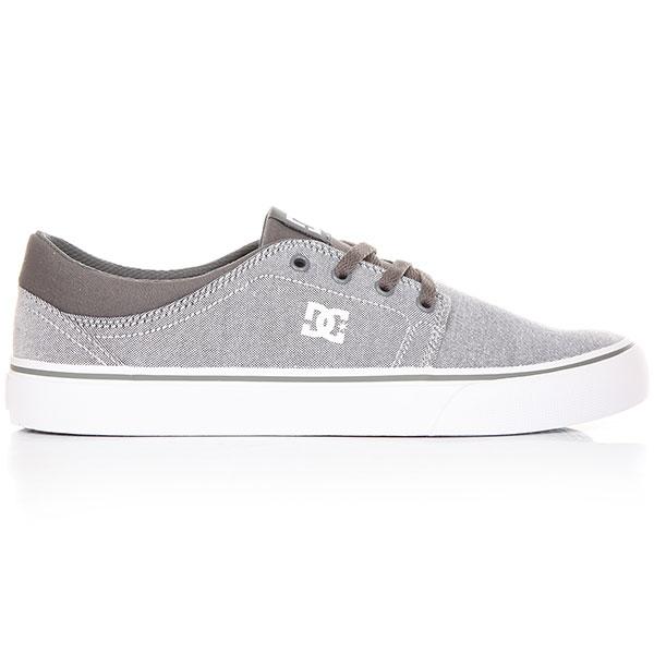 Кеды низкие DC Trase Tx Se Grey/ White