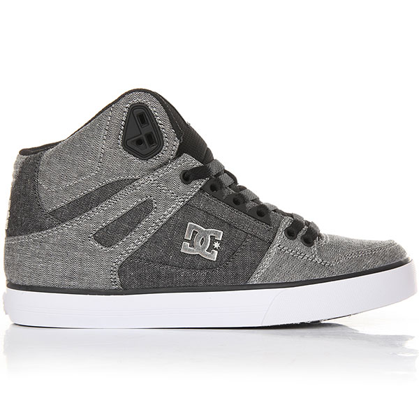 Кеды высокие DC Pure Ht Wc Tx Se Grey/White/Grey