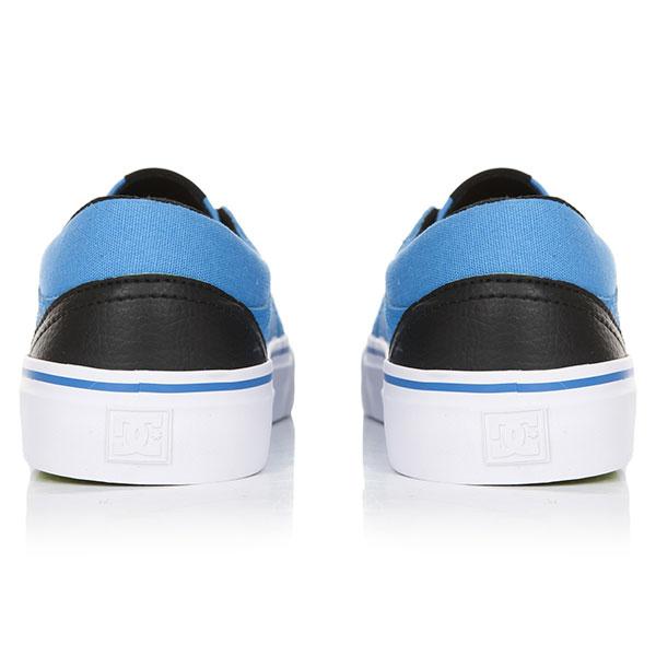 Кеды низкие детские DC Trase Se Blue/Black/White