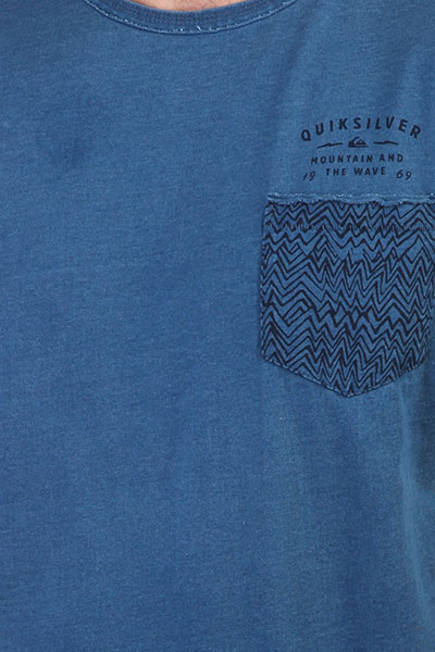 Футболка Quiksilver Bavericks Blue Used