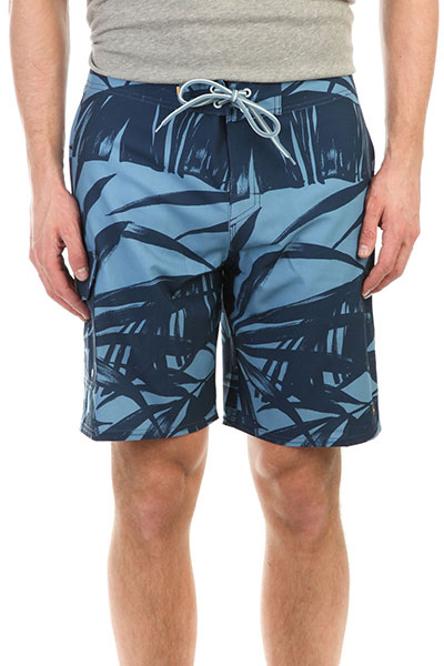 Шорты пляжные Quiksilver Wakepalmbs Blue Shadow