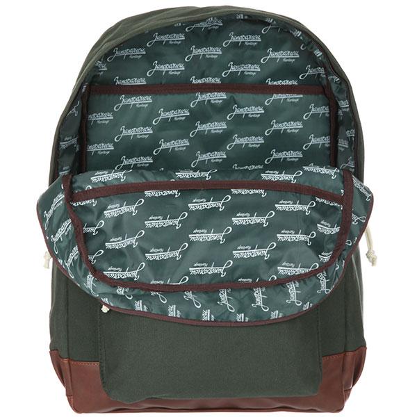 Рюкзак городской Запорожец Daypack Classic Green/Brown