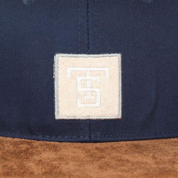Бейсболка с прямым козырьком TrueSpin Gems Navy