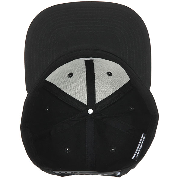 Бейсболка с прямым козырьком TrueSpin Taskulap Black