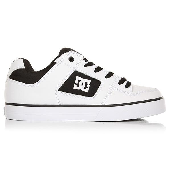 Кеды низкие женские DC Pure White/Black/White