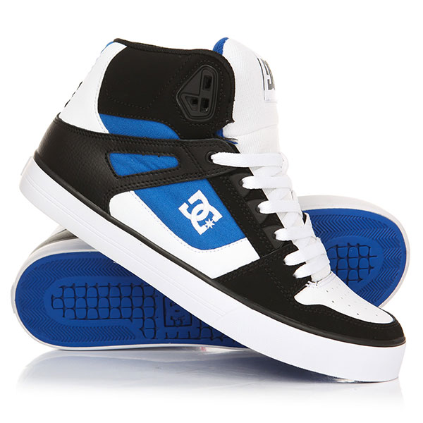 Кеды высокие DC Pure Ht Wc White/Blue/Black