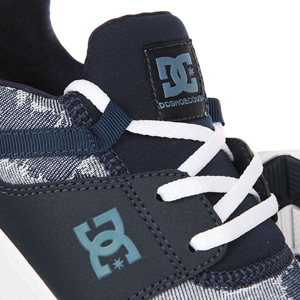 Кроссовки женские DC Tx Le Blue/Blue/White