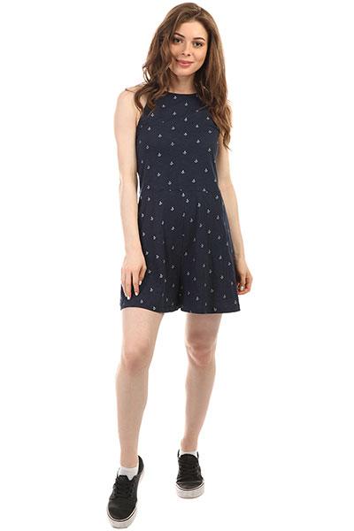 Комбинезон женский Roxy Shinyshell Dress Blue Printed