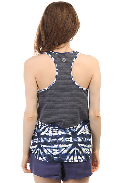 Майка женская Roxy Easy Game Tank Dress Blues Geometri