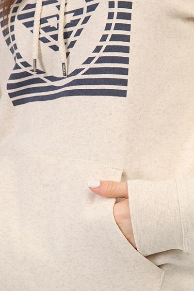 Толстовка классическая женская Roxy Fullofhoodb Tenh Metro Heather