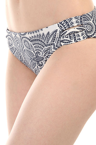 Плавки женские Roxy Girl Sea 70s Marshmallow Tribal