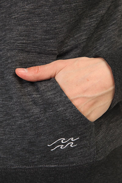 Толстовка классическая женская Billabong Essential Zh Black