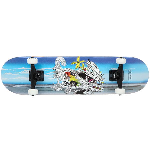 Скейтборд в сборе Quiksilver Race Surf Blue Topaz 30.5 x 7.8 (20 см)