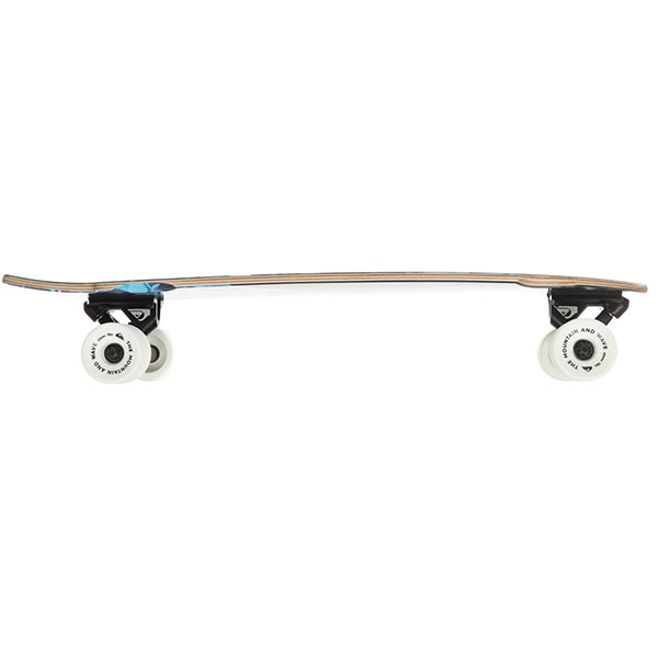 Скейт мини круизер Quiksilver Skate Marble Blue Topaz 9 x 28 (71 см)