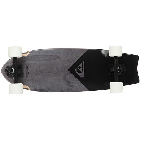Скейт мини круизер Quiksilver Skate Black Eye Black 9 x 28 (71 см)