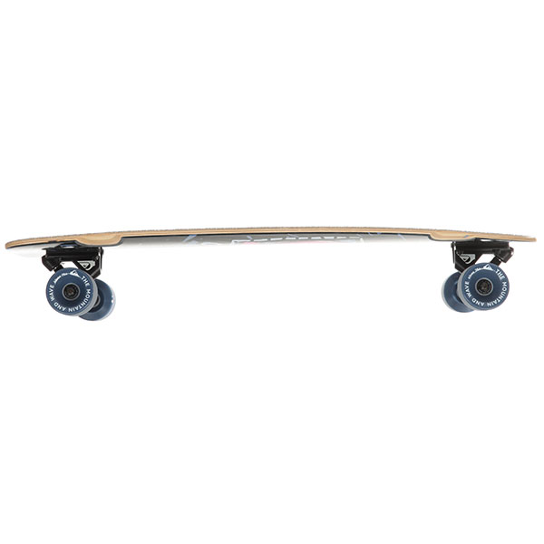 Скейт круизер Quiksilver Skate Sixties Black 10 x 30 (76 см)