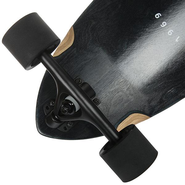 Скейт круизер Quiksilver The Snake Vintage Black 9.5 x 32 (81 см)