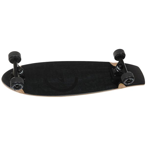 Скейт мини круизер Quiksilver New Black Beauty Black 8.5 x 29 (74 см)