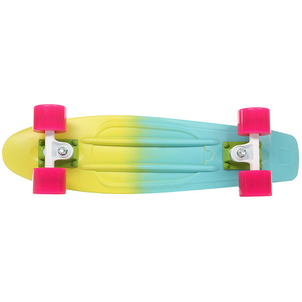 Скейт мини круизер Quiksilver Kuta Lemon Chrome 6 x 22.5 (57 см)