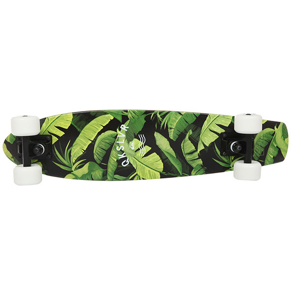 Скейт мини круизер Quiksilver Green Jungle Soft Lime 6.5 x 26 (66 см)
