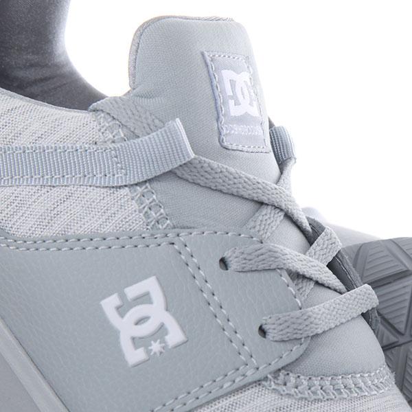 Кроссовки женские DC Shoes Heathrow Tx Se Grey