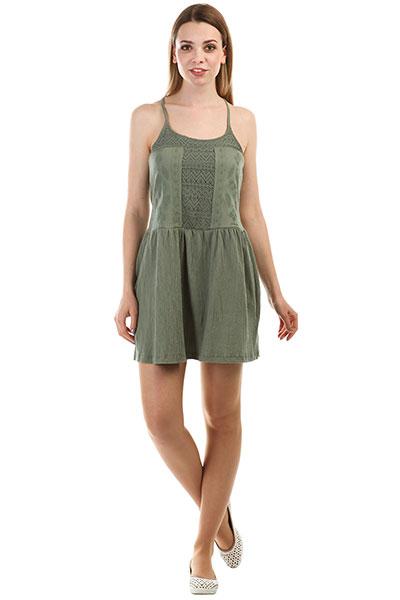 Платье женское Roxy Whitebeaches Olive
