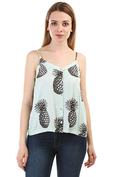 Майка женская Roxy Fantasyearth Blue Light Big Pineapple