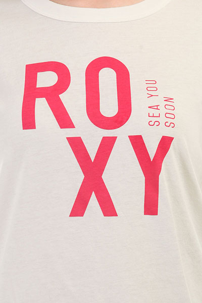 Футболка женская Roxy Sun Lov Marshmallow