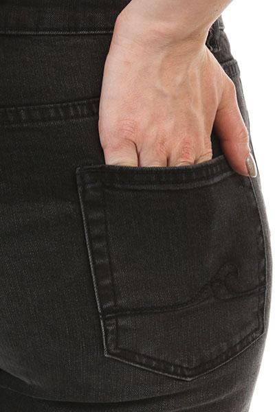 Джинсы узкие женские Roxy Boatharborpant Medium Black