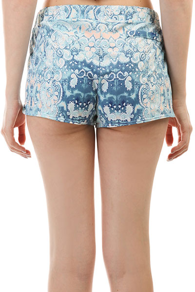 Шорты пляжные женские Roxy New Pull On Bs Marshmallow Miami On