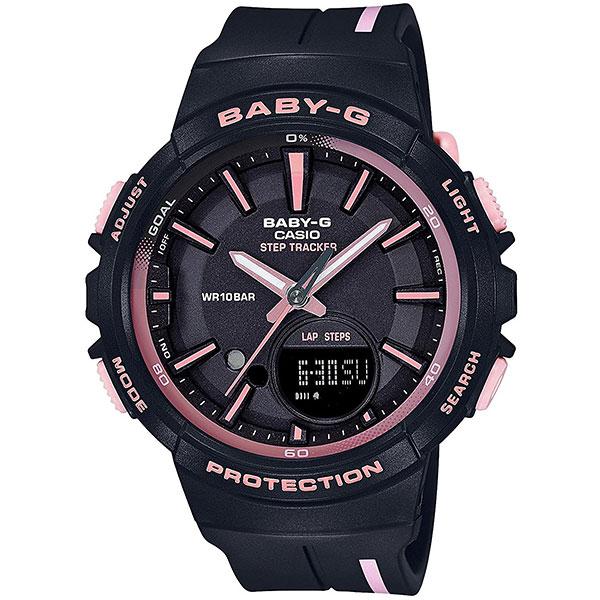 Кварцевые часы женские Casio G-Shock Baby-g bgs-100rt-1a Black