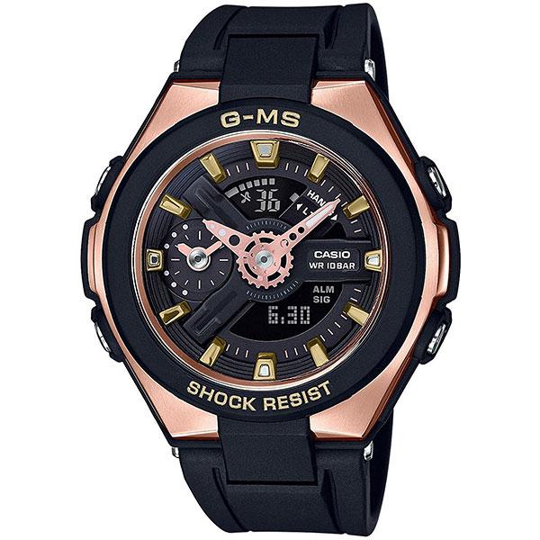 Кварцевые часы женские Casio G-Shock Baby-g msg-400g-1a1 Black