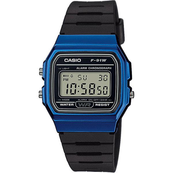 Электронные часы Casio Collection f-91wm-2a Black