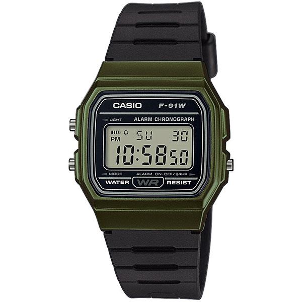 Электронные часы Casio Collection f-91wm-3a Black