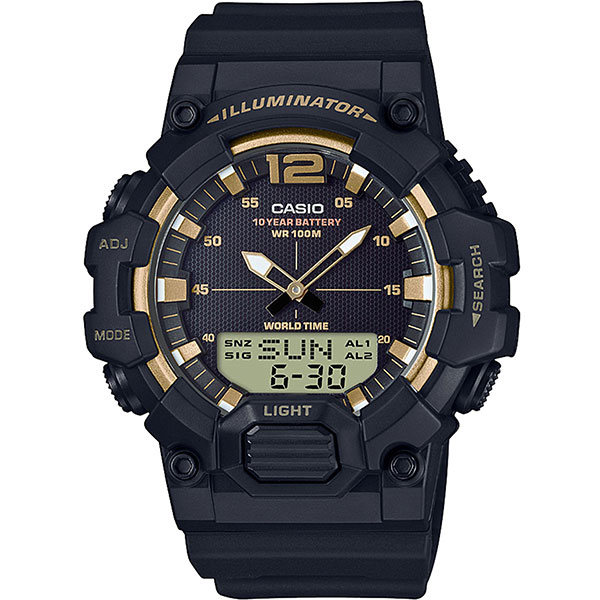 Кварцевые часы Casio Collection hdc-700-9a Black