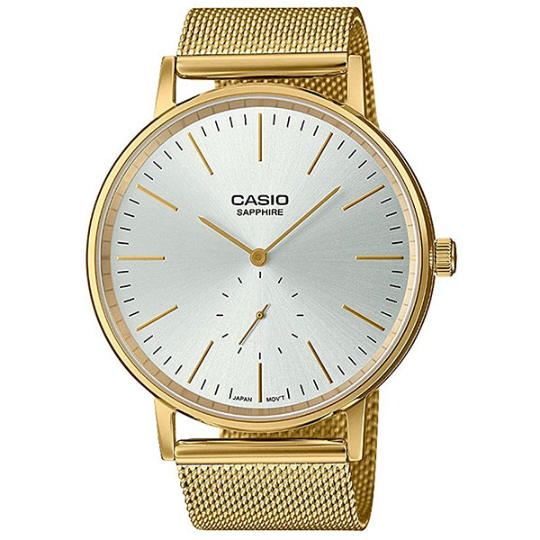 Кварцевые часы Casio Collection ltp-e148mg-7a Gold