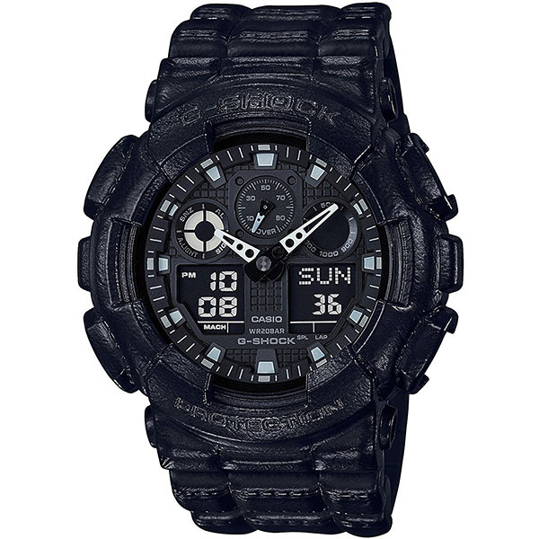 Кварцевые часы Casio G-Shock ga-100bt-1a Black