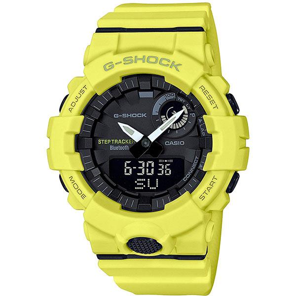 Кварцевые часы Casio G-Shock gba-800-9a Yellow